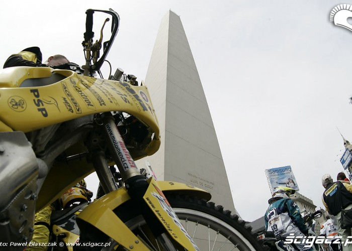 Buenos Aires pomnik