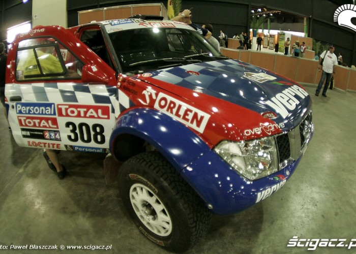 Nissan Overdrive Orlen Team odbior techniczny