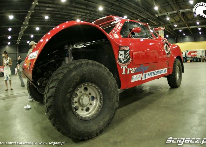 Odbior techniczny auto rosjan dakar 2010