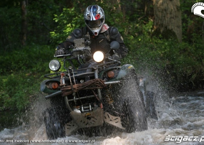 Quad Yamaha Grizzly D-W 2010