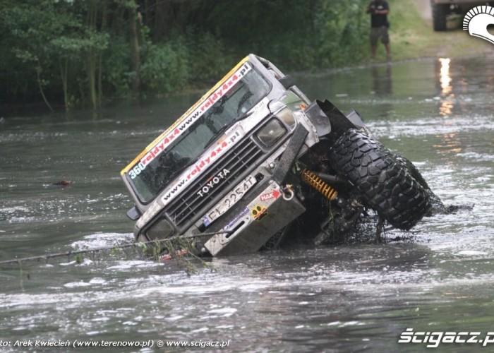 Toyota polakow-wyciaganie z wody