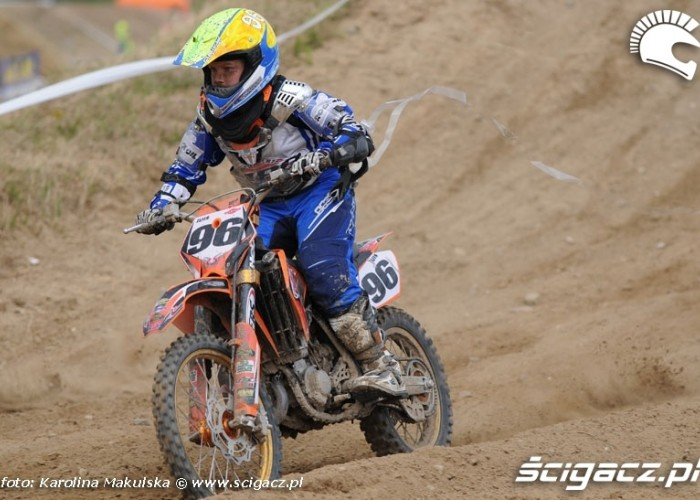MP w Motocrossie Strykow 2008 1