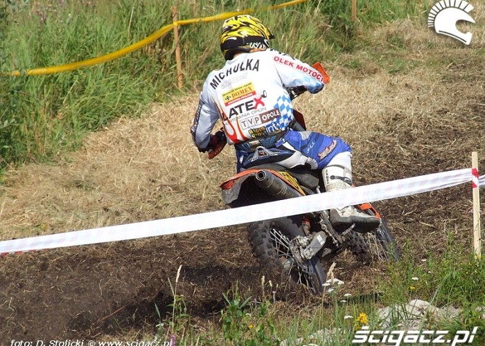 Grzegorz Michulka cross test