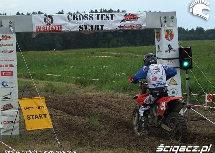 cross test start