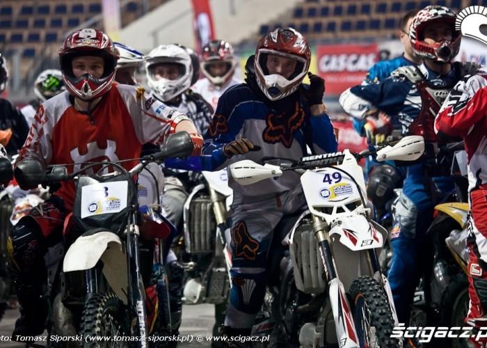 Motocyklowy WOSP w Lodzi zawodnicy