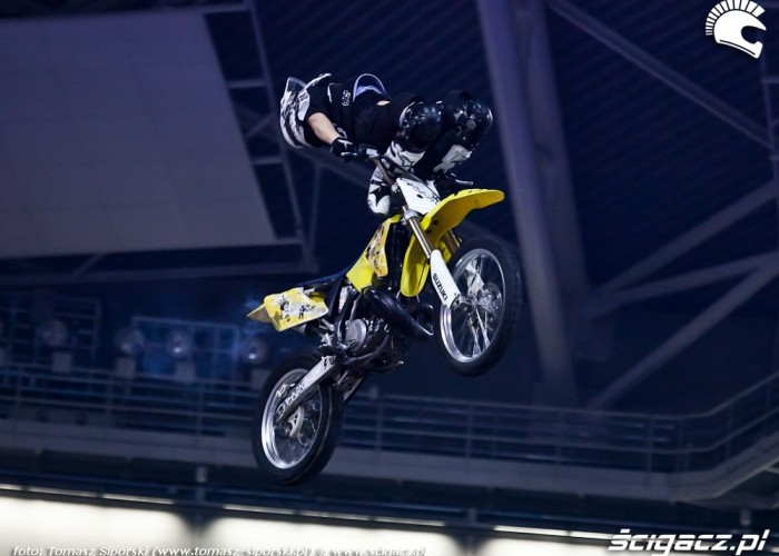 Pokaz freestyle motocrossu Xtreme Arena
