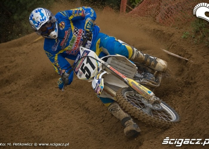 davis livs motocross zakret yamaha