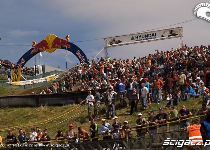 kibice motocross arena grand prix cczech republik