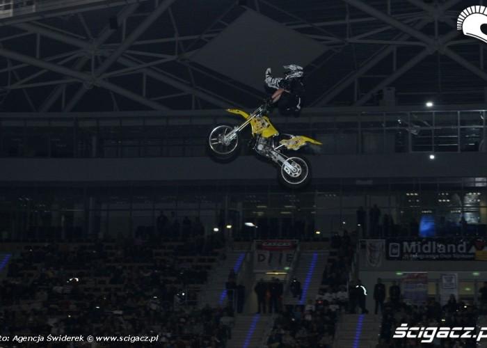 Pokaz FMX Atlas Arena Lodz