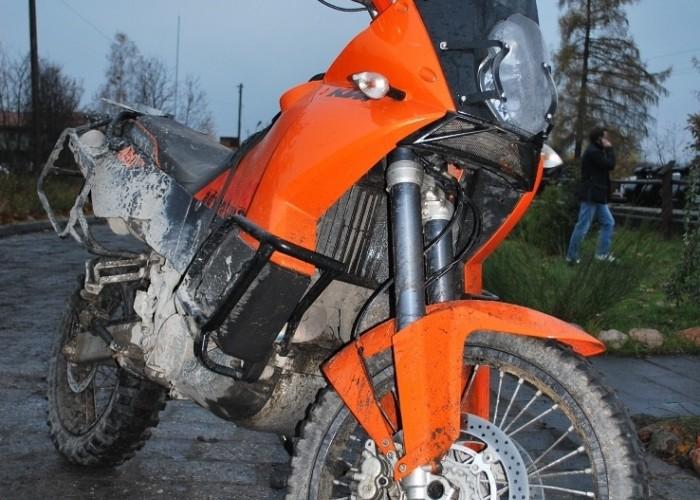 KTM Adventure 660 dojechal pozno - 63 Pogon za lisem