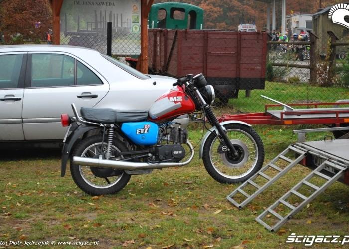 MZ ETZ 150 - 63 Pogon za lisem