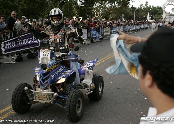 Alejandro Patronelli meta Rajd Dakar 2010