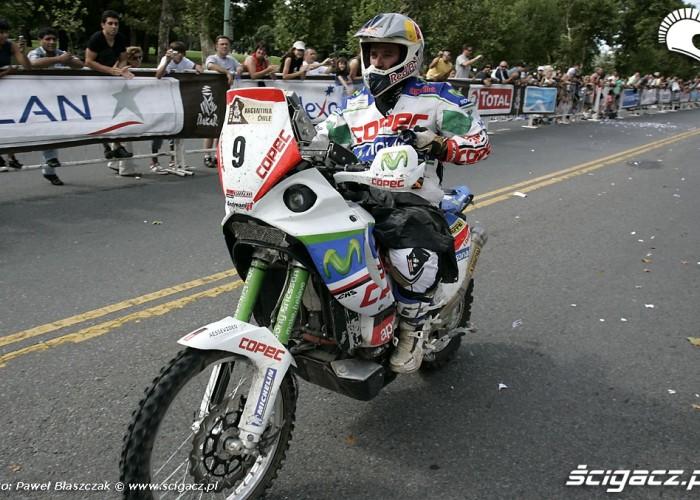 Francisco Lopez Contardo Aprilia Racing Dakar 2010