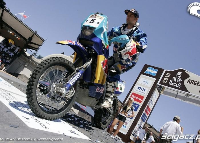 Helder Rodrigues Dakar 2010 Meta
