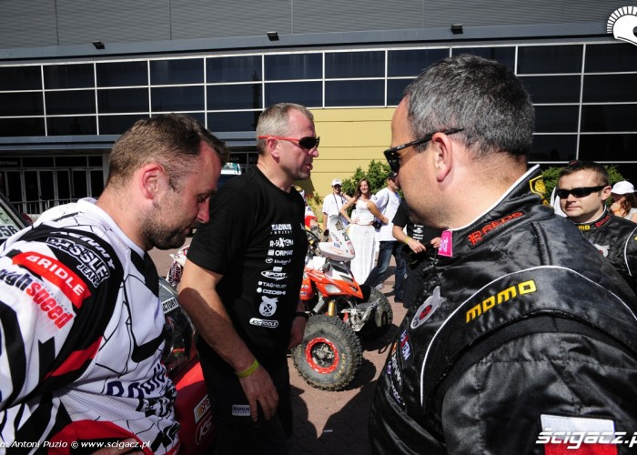Polacy na mecie Dakaru w Buenos Aires