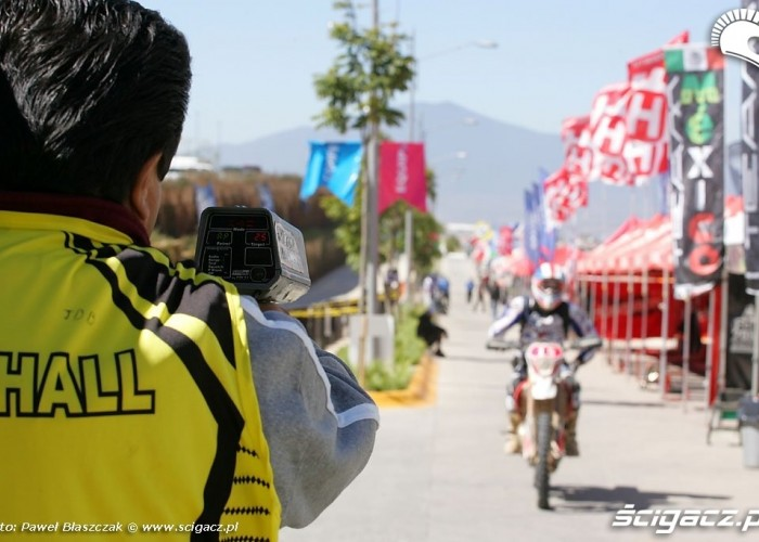 Radar Motocykl Enduro Fotoradar ISDE dzien piaty 2010