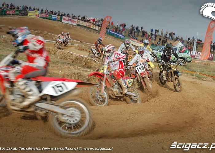 motocross lublin Start