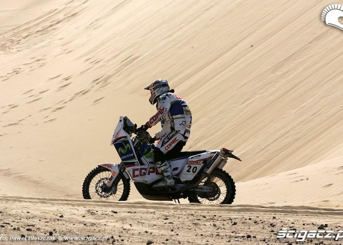 Rajd Dakar 2009 Pustynia Atacama