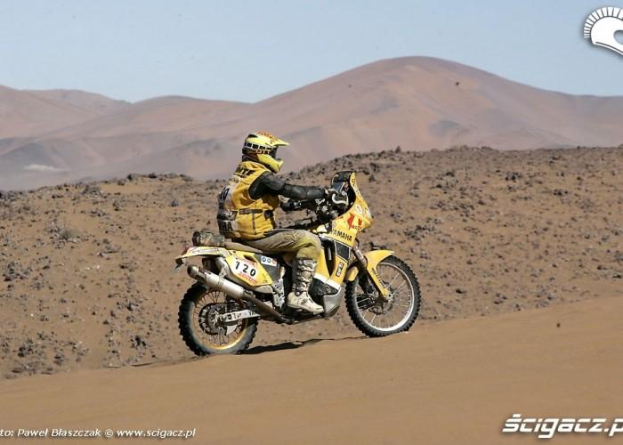 Rajd Dakar 2009 Pustynia Atacama 10 etap