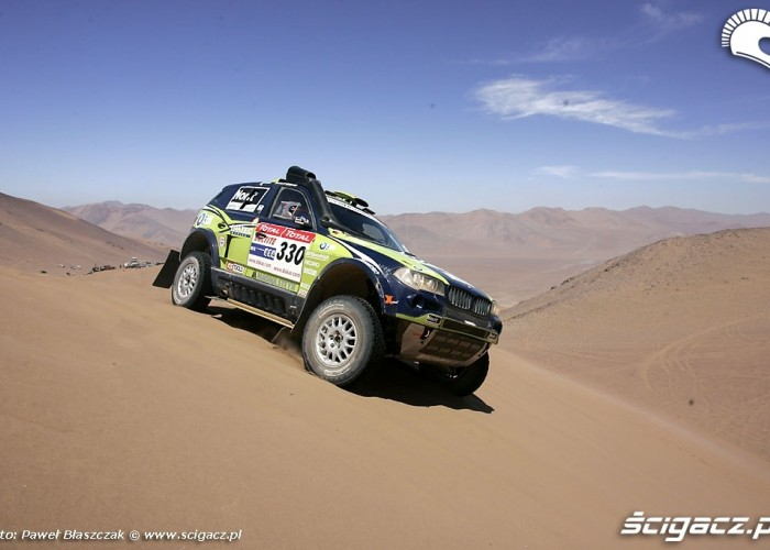 Rajd Dakar 2009 Pustynia Atacama BMW