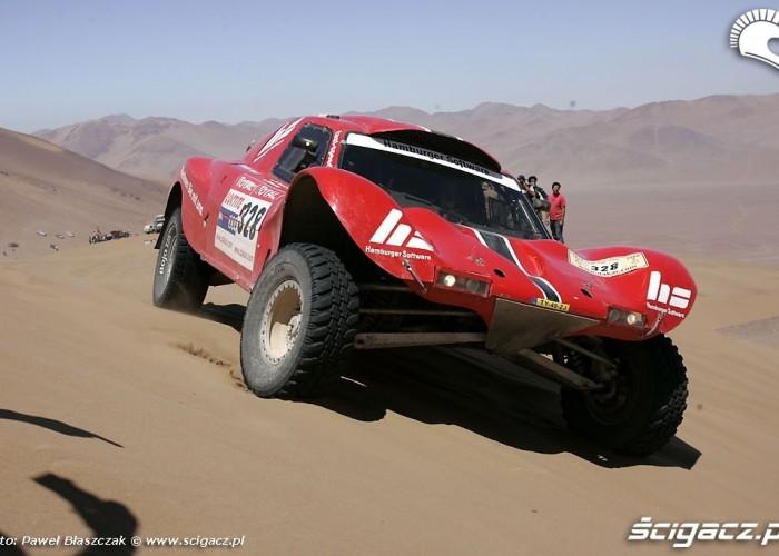 Rajd Dakar 2009 Pustynia Atacama Buggy