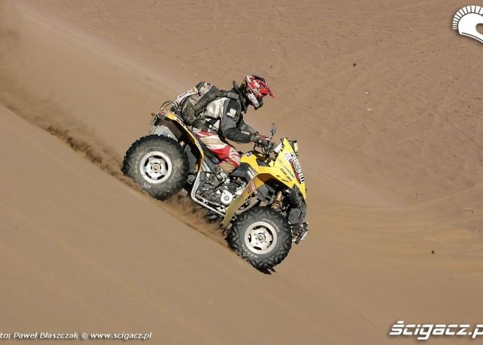 Rajd Dakar 2009 Pustynia Atacama Can am