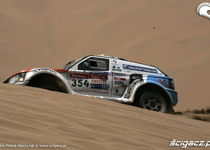 Rajd Dakar 2009 Pustynia Atacama Coronell