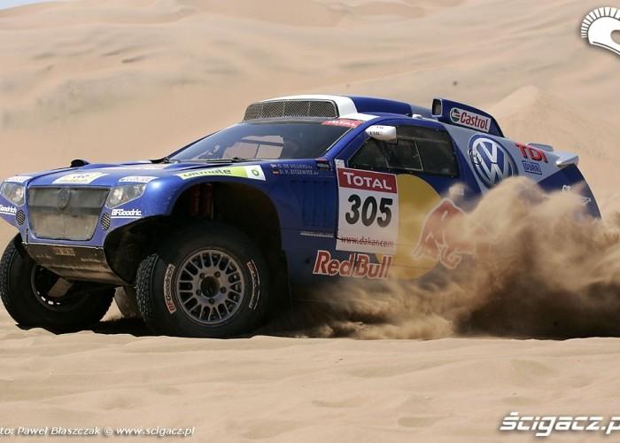 Rajd Dakar 2009 Pustynia Atacama Villiers