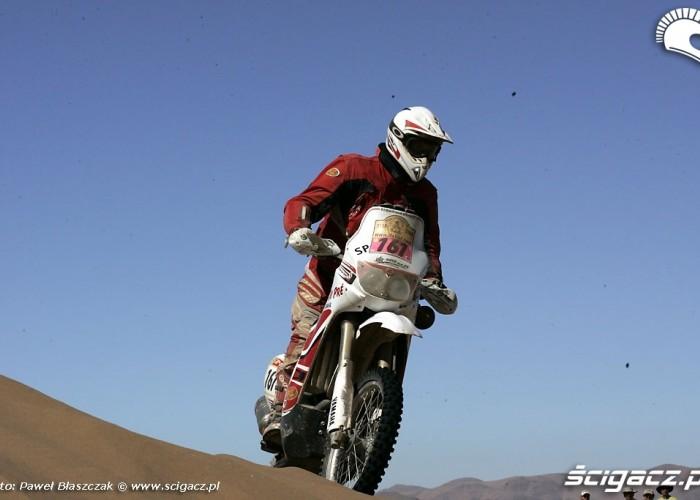 Rajd Dakar 2009 Pustynia Atacama Yamaha