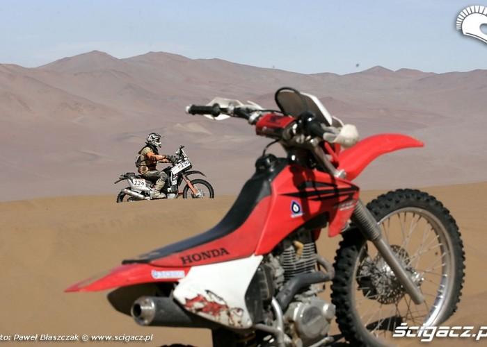 Rajd Dakar 2009 Pustynia Atacama kibice