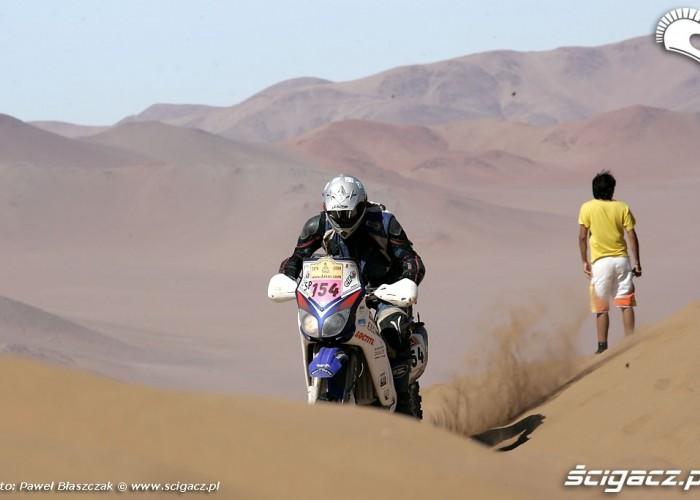 Rajd Dakar 2009 Pustynia Atacama podjazd