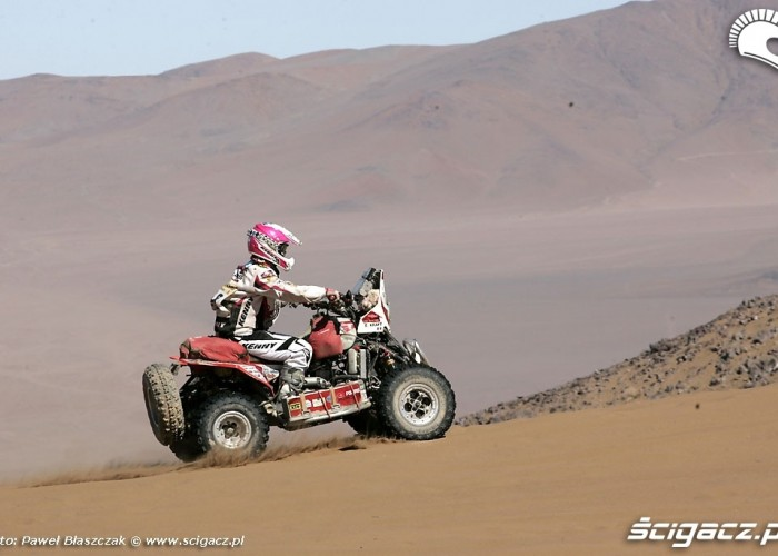 Rajd Dakar 2009 Pustynia Atacama polaris