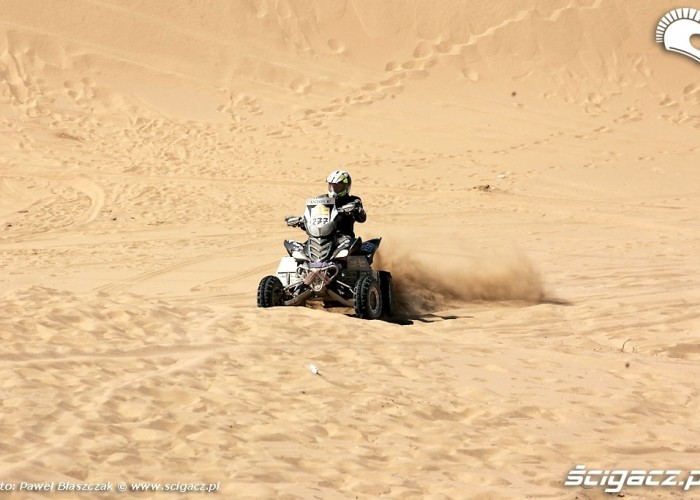 Rajd Dakar 2009 Pustynia Atacama quad Yamaha