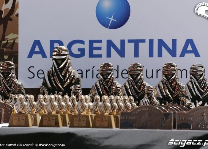 Dakar 2009 nagrody dla zwyciezcow
