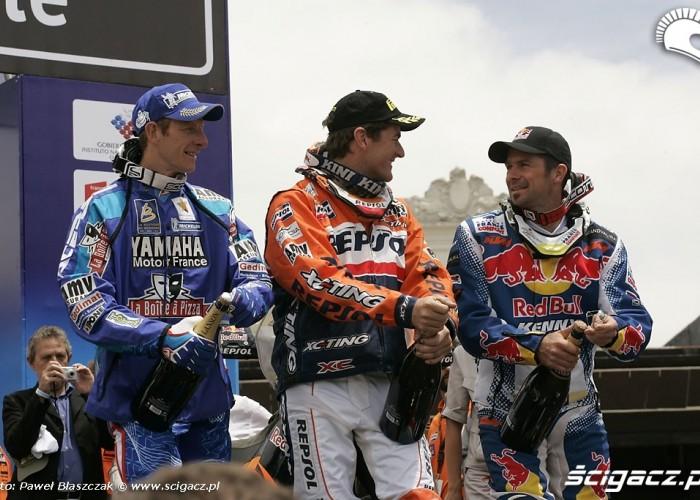 Motocyklisci Dakar 2009 meta