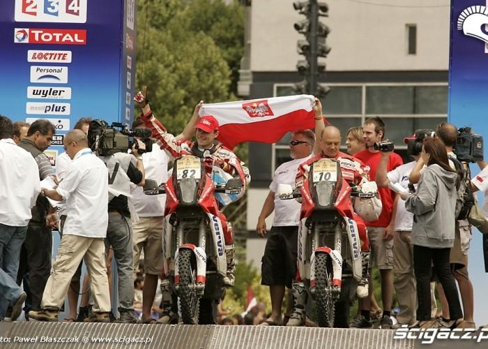 Orlen team przygonski Czachor Dakar 2009