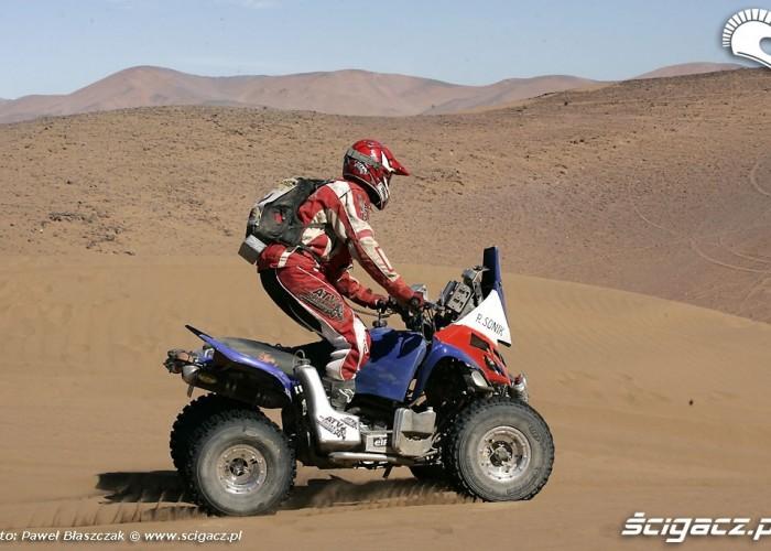 Rafal Sonik Dakar 2009 Atacama