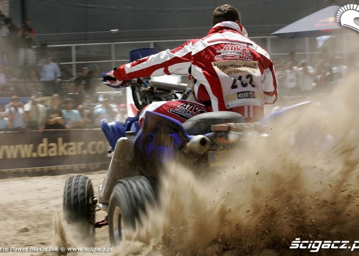 Rafal sonik po zakonczeniu Dakaru 2009