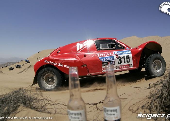 Rajd Dakar 2010 opuszcza pustynie Corona