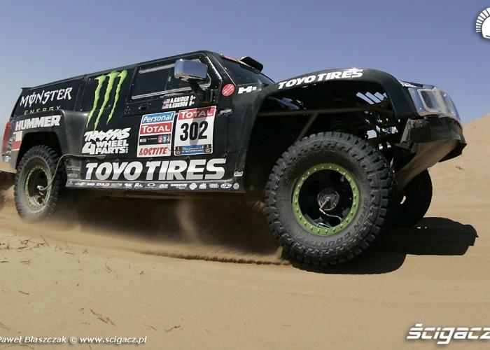 Rajd Dakar 2010 opuszcza pustynie Grider Gordon