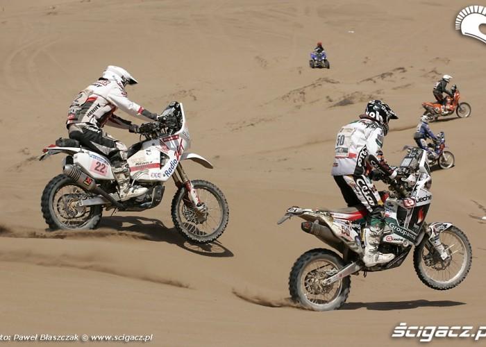Rajd Dakar 2010 opuszcza pustynie Krzysiek Jarmuz