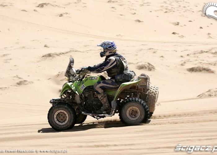 Rajd Dakar 2010 opuszcza pustynie Mean Green
