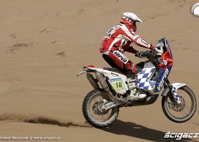 Rajd Dakar 2010 opuszcza pustynie Polacy w akcji