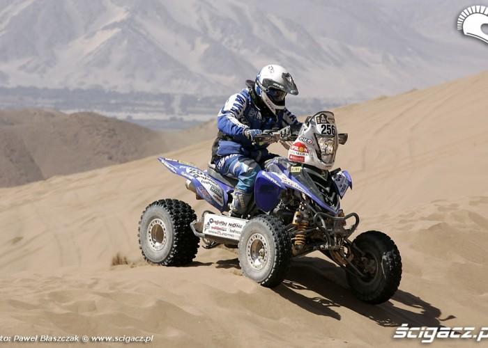 Rajd Dakar 2010 opuszcza pustynie Quady na piasku