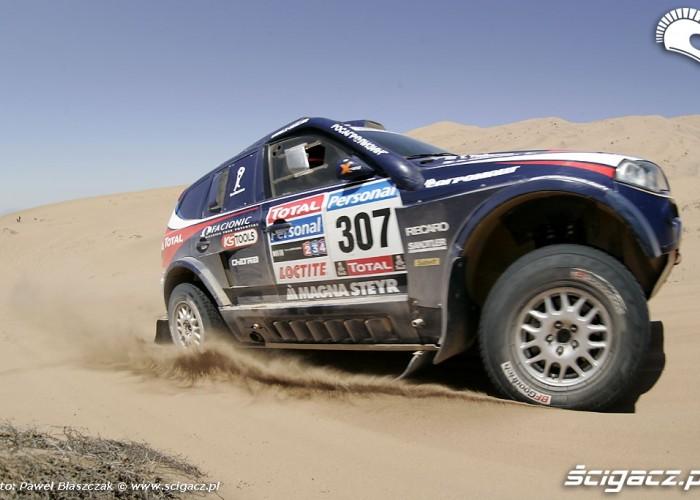 Rajd Dakar 2010 opuszcza pustynie Rosjanie