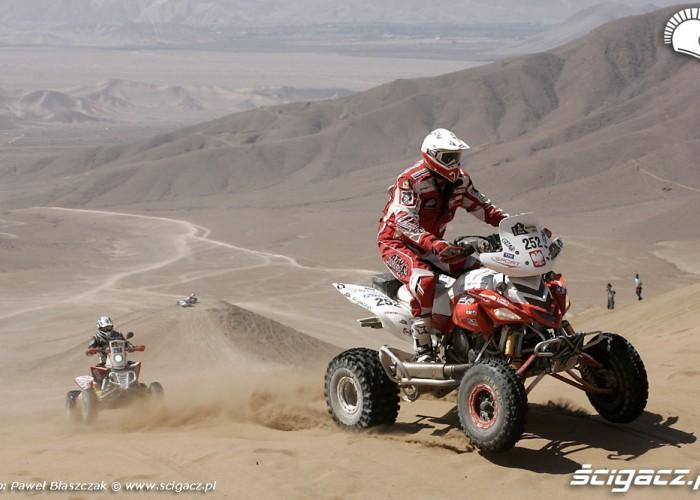 Rajd Dakar 2010 opuszcza pustynie Sonik