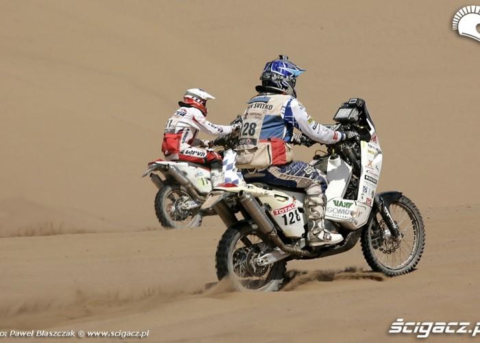 Rajd Dakar 2010 opuszcza pustynie Team Orlen