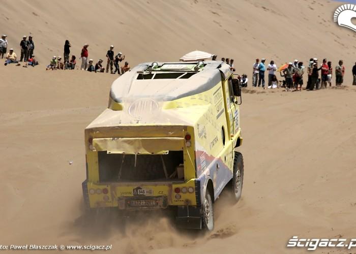 Tatra Rajd Dakar 2010 opuszcza pustynie