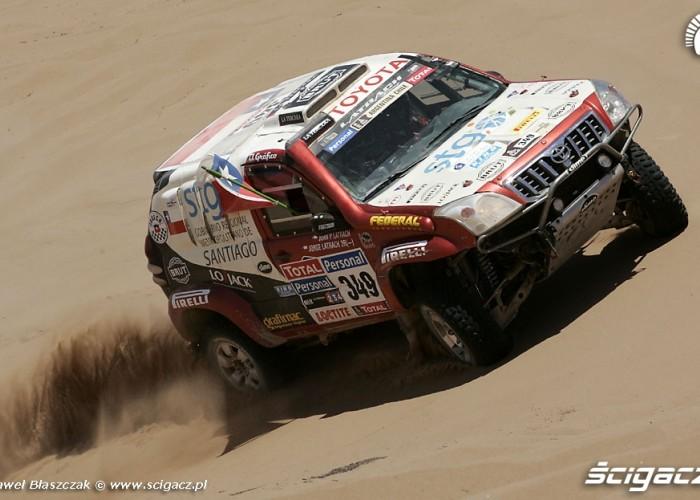 Toyota Rajd Dakar 2010 opuszcza pustynie