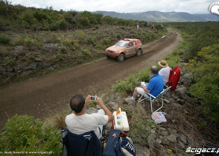 Dakar 2010 Cordoba-La Rioja kibice